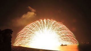 2016年の熊野大花火大会の会場や日程は?