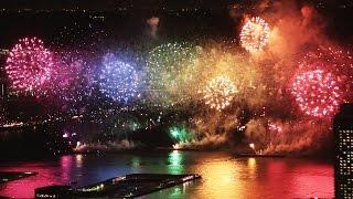 2016年のみなとこうべ海上花火大会の会場や日程は?