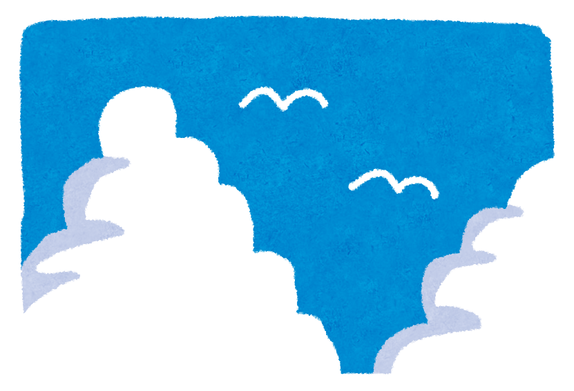 夏の雲の種類は?入道雲と積乱雲は違う雲なの?