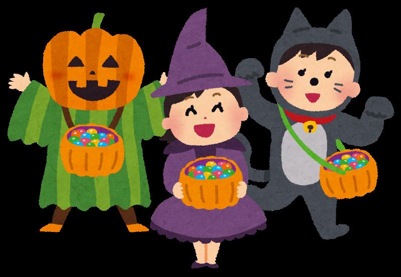 ハロウィンでお菓子をもらう時の言葉は何?お菓子をあげるのを拒むとどうなるの?