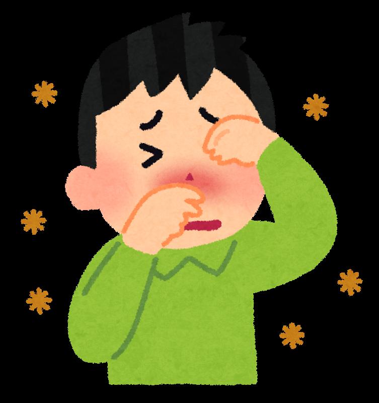 秋にも花粉症になる!症状と原因のまとめ
