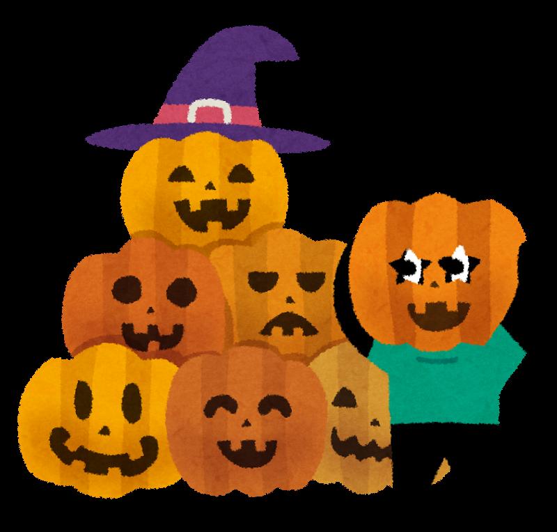 ハロウィンのかぼちゃのおばけの名前や種類は?かぼちゃにはどんな意味があるの?